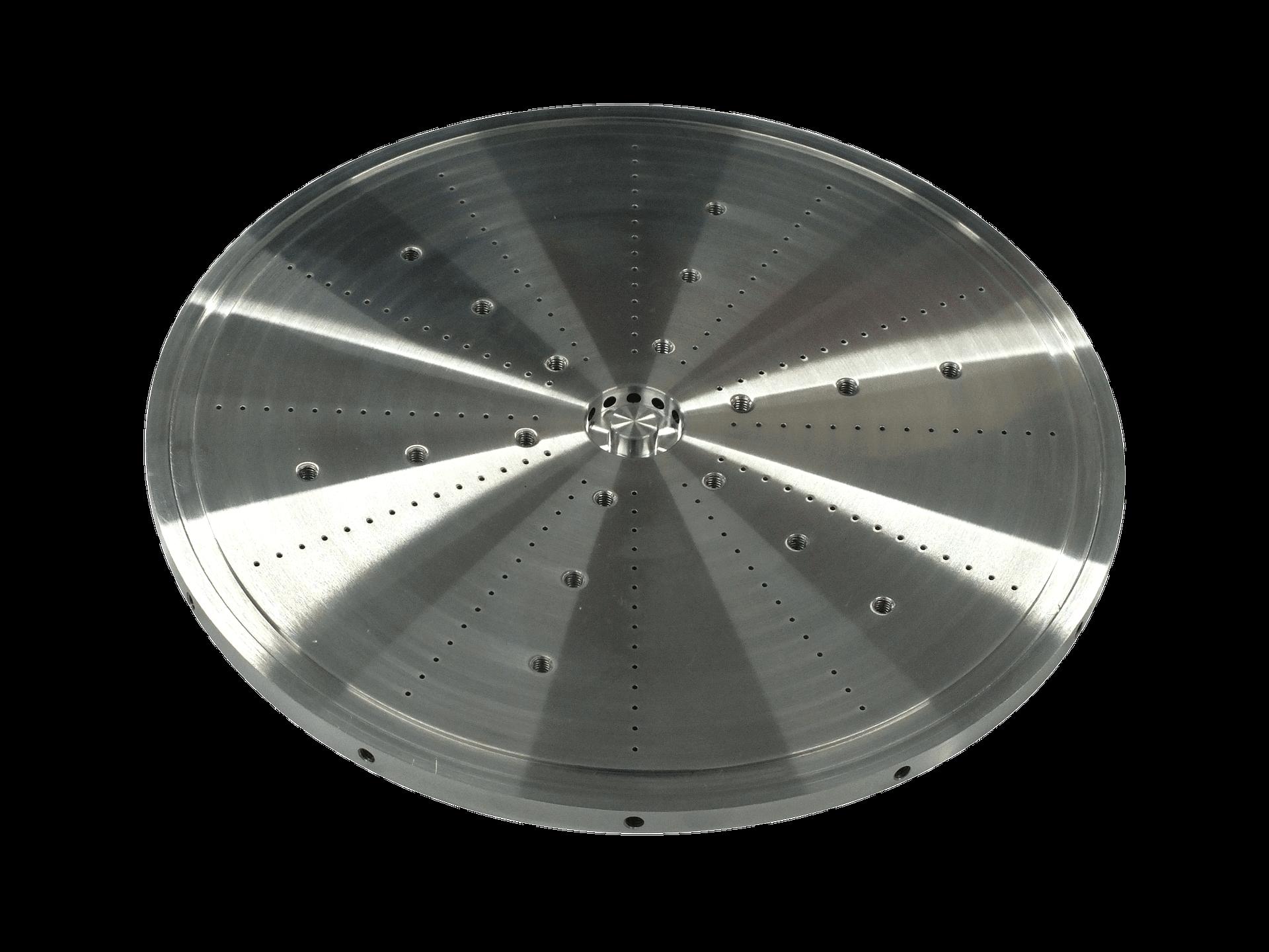 Gun drilling for machine tool parts